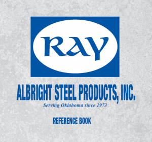 Ray Albright Steel Products Reference Book